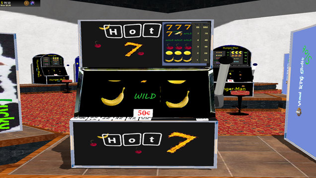 3 reel slot with wilds, set at multiple values.<br /><a href='http://lastend.com/Download/Games/CasinoSlots.aspx'>DOWNLOAD</a>