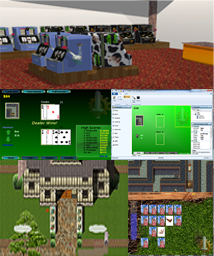 2D-3D game engine and editor for Windows. VRS can support many types of games.